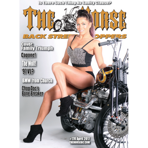 The Horse BackStreet Choppers Magazine Issue #170