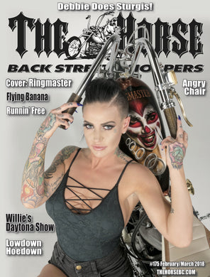 The Horse BackStreet Choppers Magazine Issue #175