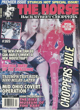 Load image into Gallery viewer, The Horse BackStreet Choppers Magazine Issue #1