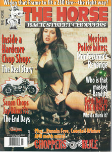 The Horse BackStreet Choppers Magazine Issue #7