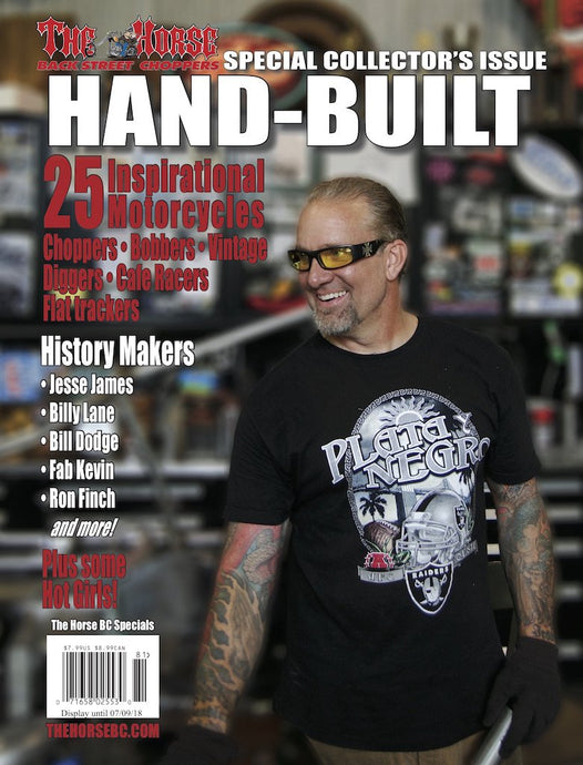 The Horse BackStreet Choppers Magazine Hand-Built Issue No.1