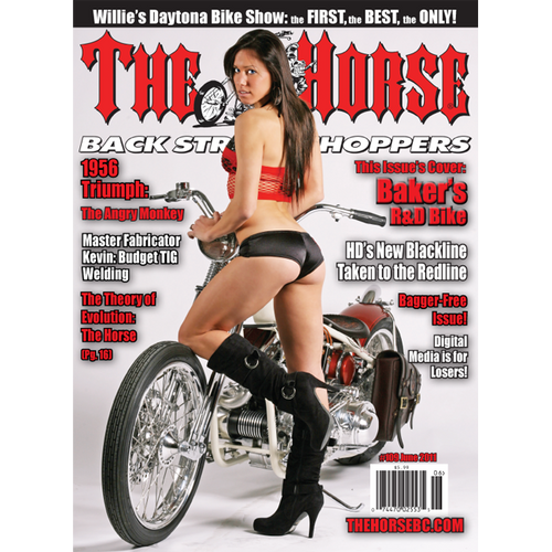 The Horse BackStreet Choppers Magazine Issue #109
