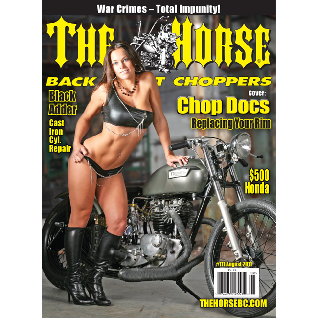The Horse BackStreet Choppers Magazine Issue #111