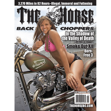 The Horse BackStreet Choppers Magazine Issue #112
