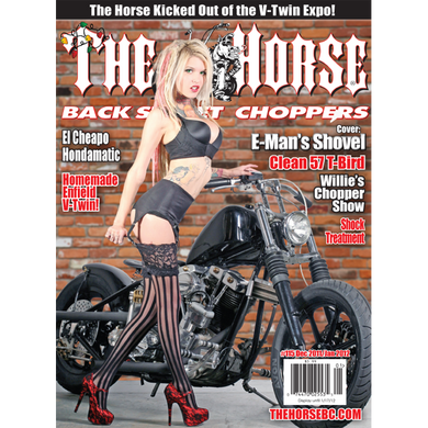 The Horse BackStreet Choppers Magazine Issue #115