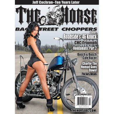 The Horse BackStreet Choppers Magazine Issue #116
