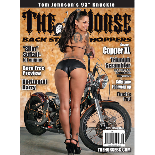 The Horse BackStreet Choppers Magazine Issue #120