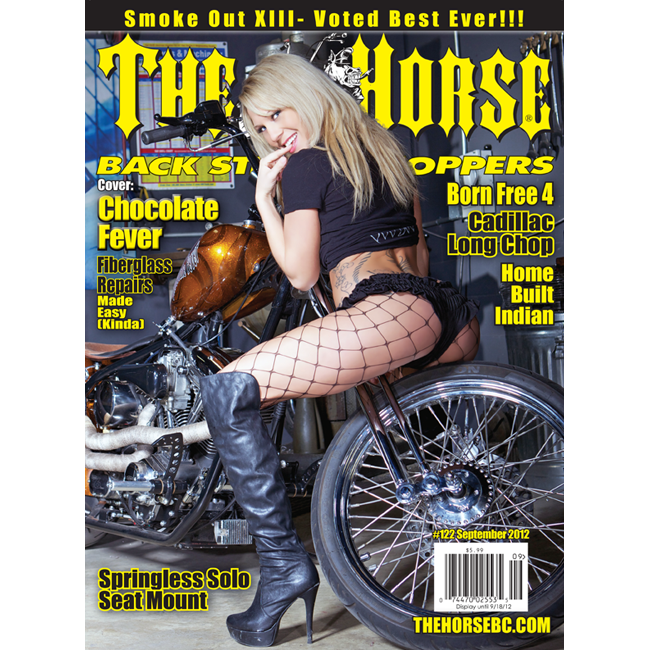 The Horse BackStreet Choppers Magazine Issue #122