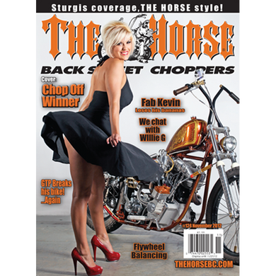 The Horse BackStreet Choppers Magazine Issue #124