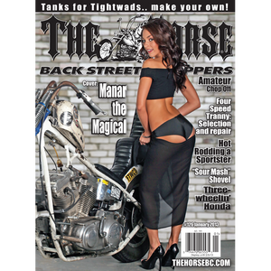 The Horse BackStreet Choppers Magazine Issue #126