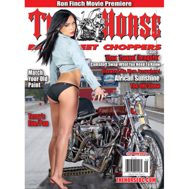 The Horse BackStreet Choppers Magazine Issue #130