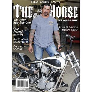 The Horse BackStreet Choppers Magazine Issue #159