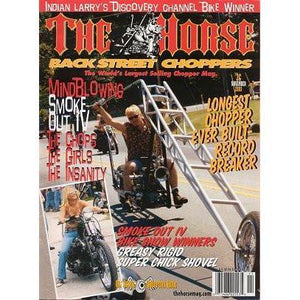 The Horse BackStreet Choppers Magazine Issue #36