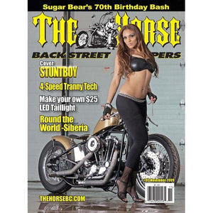 The Horse BackStreet Choppers Magazine Issue #93