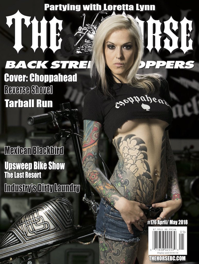 The Horse BackStreet Choppers Magazine Issue #176