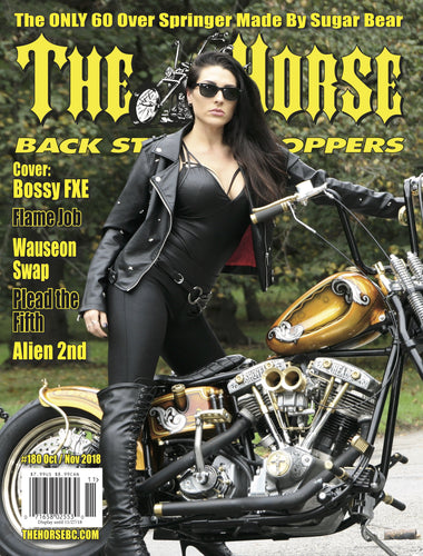 The Horse BackStreet Choppers Magazine Issue #180 October/ November 2018