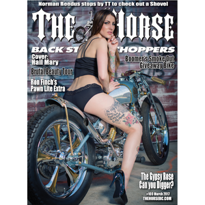 The Horse BackStreet Choppers Magazine Issue #169