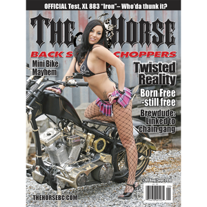The Horse BackStreet Choppers Magazine Issue #101