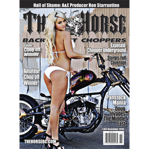 The Horse BackStreet Choppers Magazine Issue #103