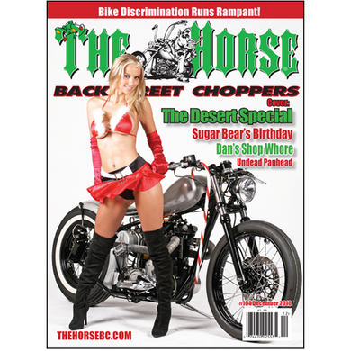 The Horse BackStreet Choppers Magazine Issue #104