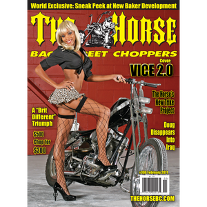 The Horse BackStreet Choppers Magazine Issue #106