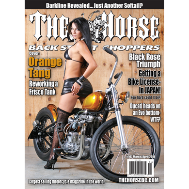 The Horse BackStreet Choppers Magazine Issue #107