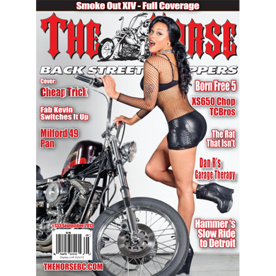 The Horse BackStreet Choppers Magazine Issue #133