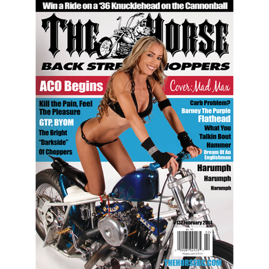 The Horse BackStreet Choppers Magazine Issue #137