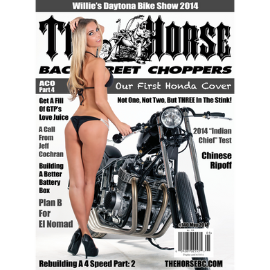 The Horse BackStreet Choppers Magazine Issue #140