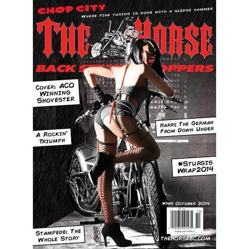 The Horse BackStreet Choppers Magazine Issue #144