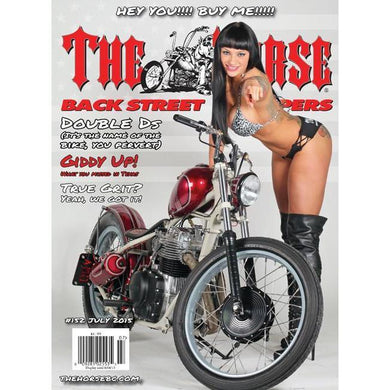 The Horse BackStreet Choppers Magazine Issue #152
