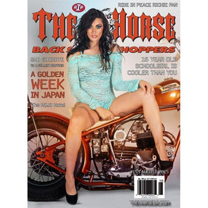 The Horse BackStreet Choppers Magazine Issue #153