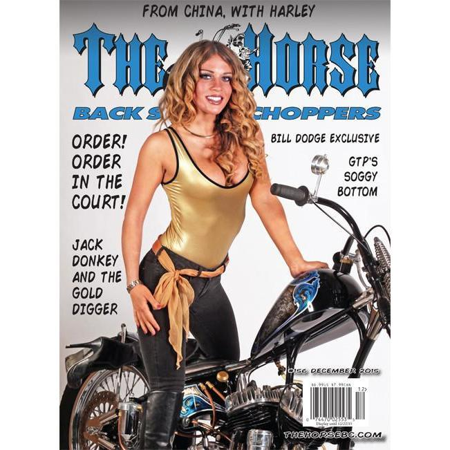 The Horse BackStreet Choppers Magazine Issue #156