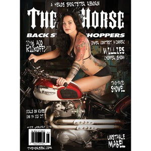 The Horse BackStreet Choppers Magazine Issue #157