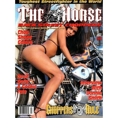 The Horse BackStreet Choppers Magazine Issue #15