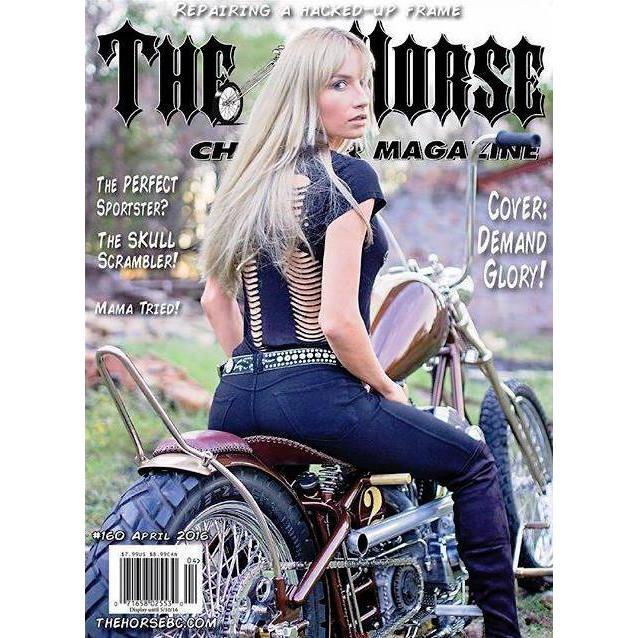 The Horse BackStreet Choppers Magazine Issue #160
