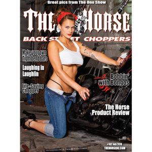 The Horse BackStreet Choppers Magazine Issue #162
