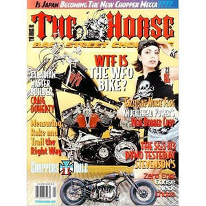 The Horse BackStreet Choppers Magazine Issue #23