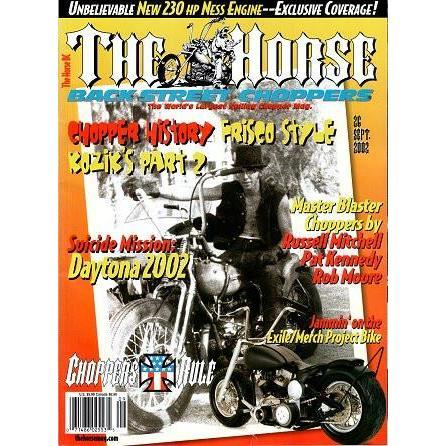 The Horse BackStreet Choppers Magazine Issue #26