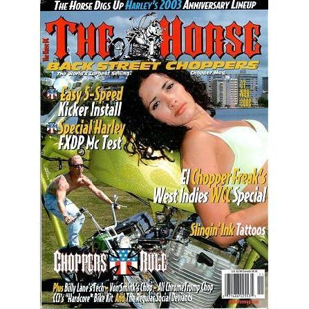 The Horse BackStreet Choppers Magazine Issue #27
