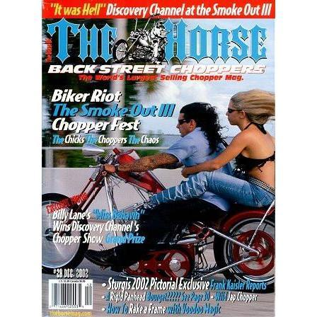 The Horse BackStreet Choppers Magazine Issue #28