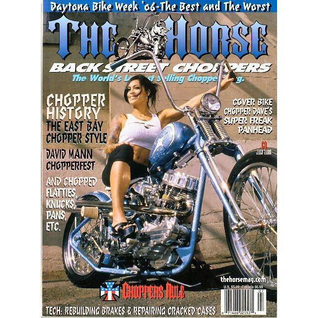 The Horse BackStreet Choppers Magazine Issue #60