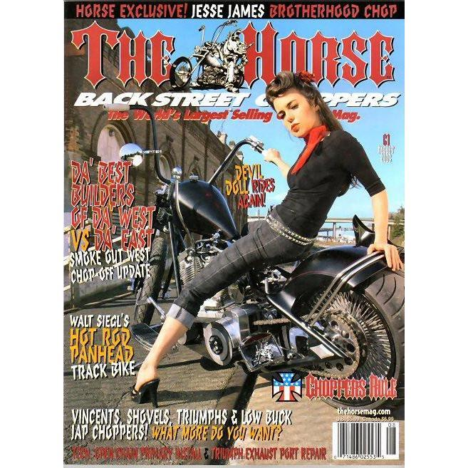 The Horse BackStreet Choppers Magazine Issue #61