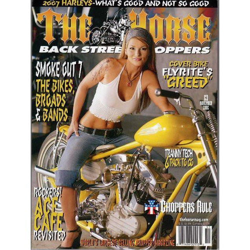 The Horse BackStreet Choppers Magazine Issue #63