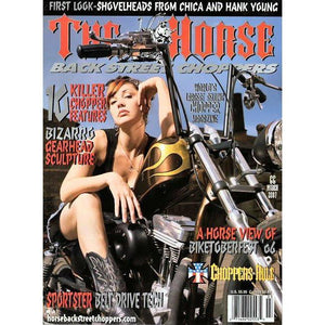 The Horse BackStreet Choppers Magazine Issue #66