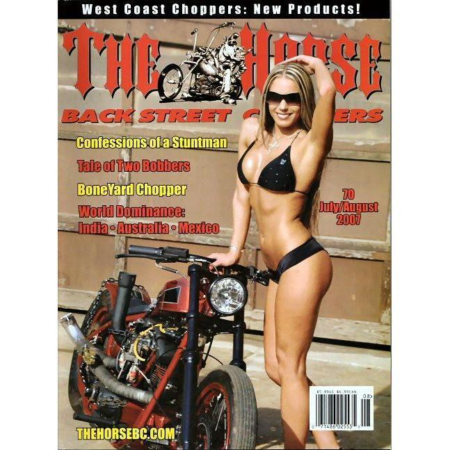 The Horse BackStreet Choppers Magazine Issue #70