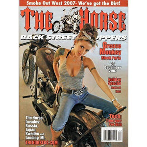 The Horse BackStreet Choppers Magazine Issue #73