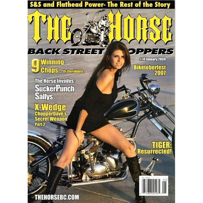 The Horse BackStreet Choppers Magazine Issue #74