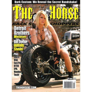The Horse BackStreet Choppers Magazine Issue #79