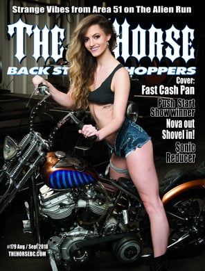 The Horse BackStreet Choppers Magazine Issue #179 August/ September 2018
